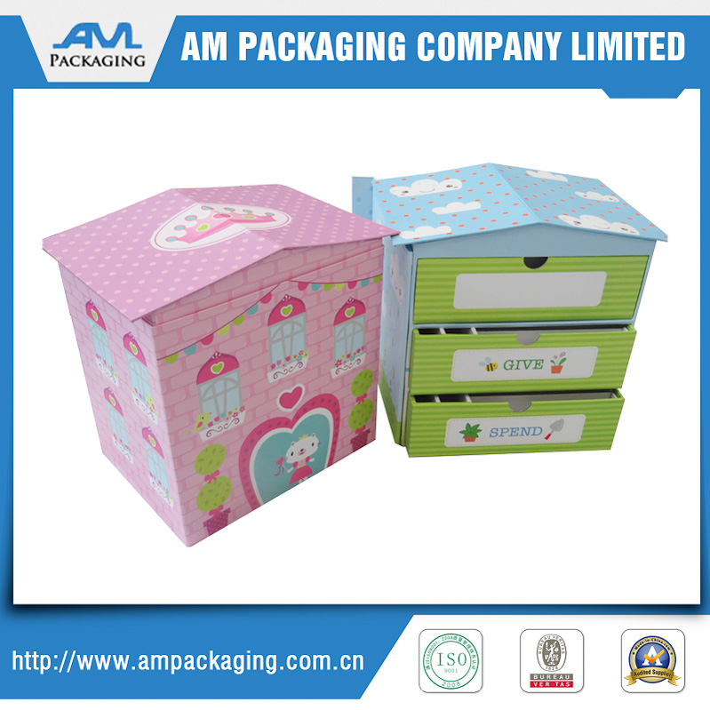 house shape gift box high quality